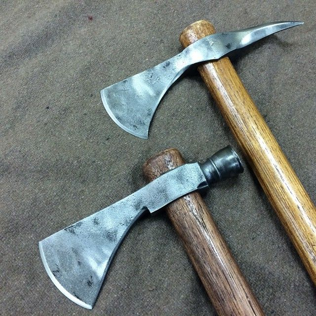 Modded Cold Steel Spike Hawk and Pipe Hawk Via