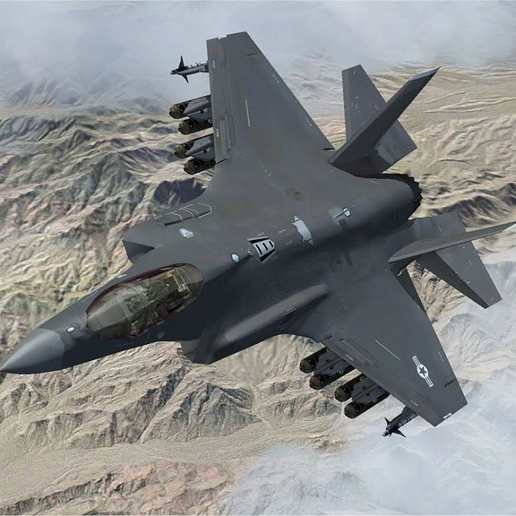 F35 Fully Loaded F35 Jsf Military Usa Follow Persian Soldier Air Force Pics Italiandefenceforces Stealth Aircraft Fighter Planes Fighter Jets
