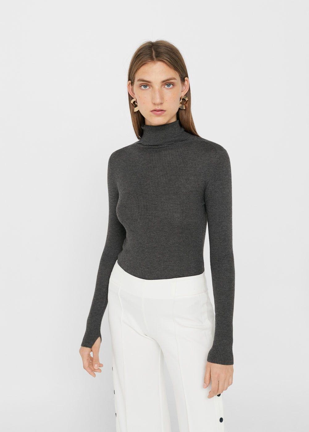 229ed847f496d Jersey cuello alto - Mujer