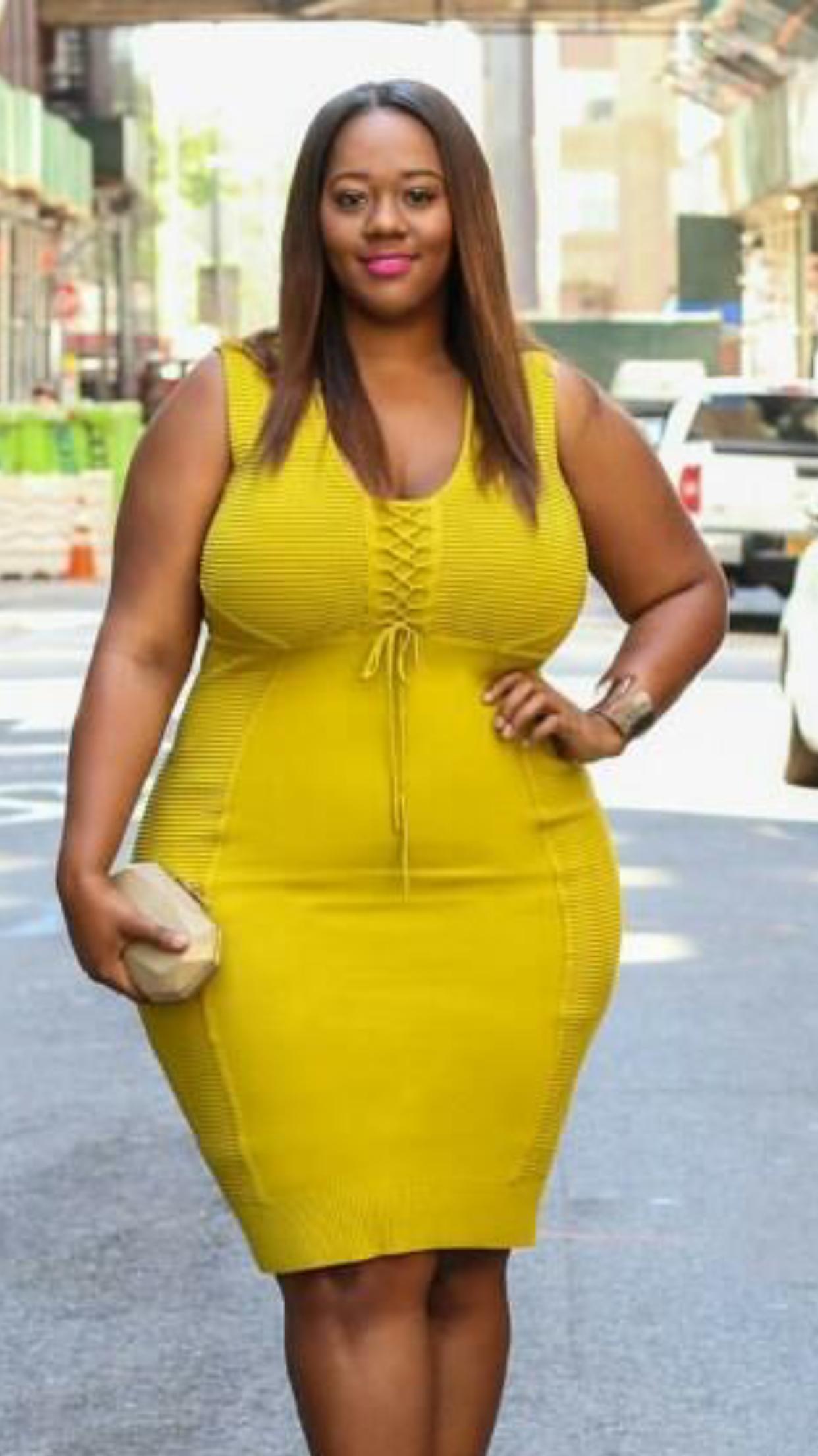 Big Girl Fashion Curvy Fashion Trendy Plus Size Fashion Queen Fashion Bodycon