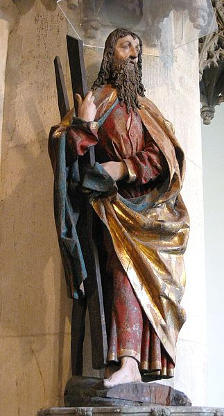 Hl. Andreas, c. 1480-1481, Erasmus Grasser