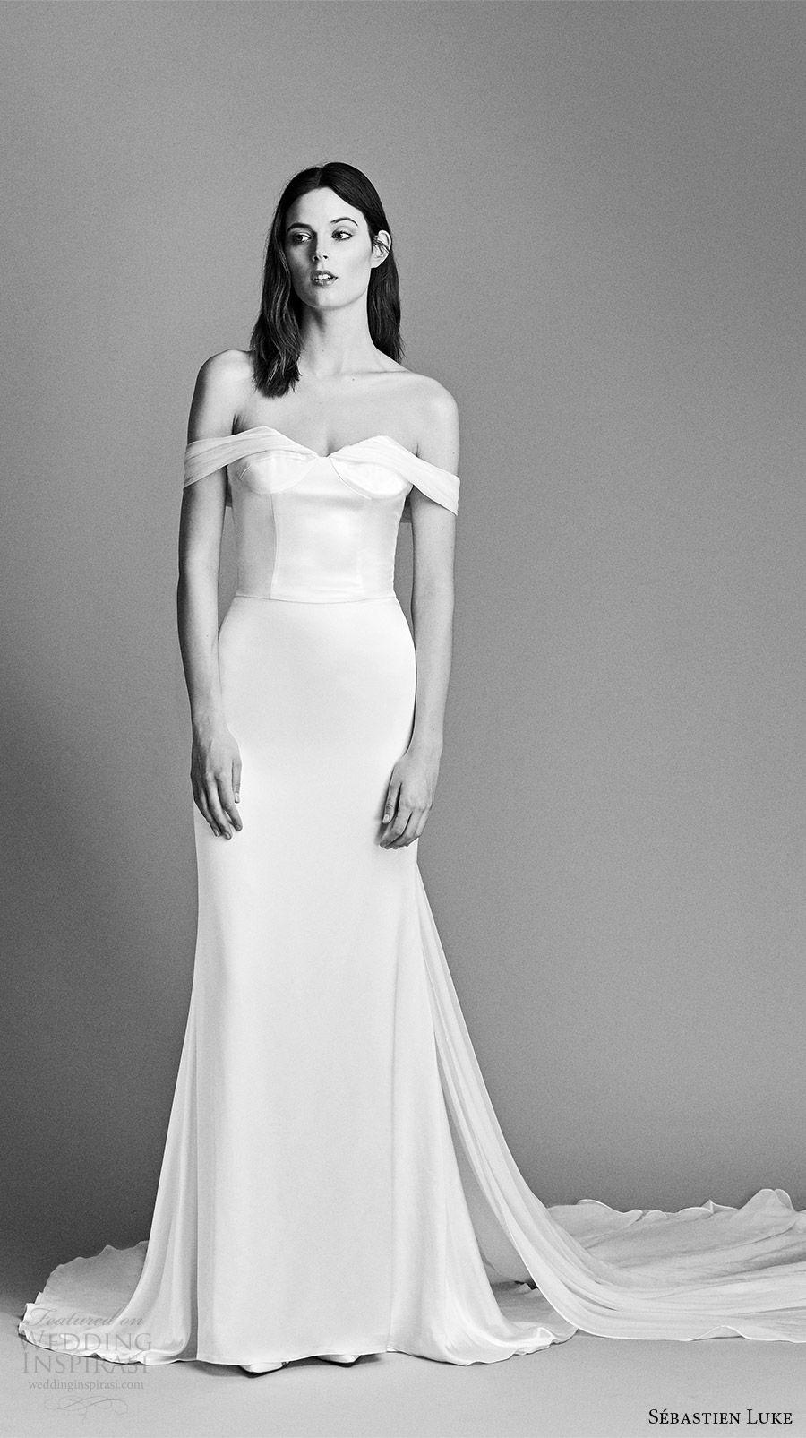 Sébastien Luke Spring 2018 Wedding Dresses | Pinterest | Wedding ...