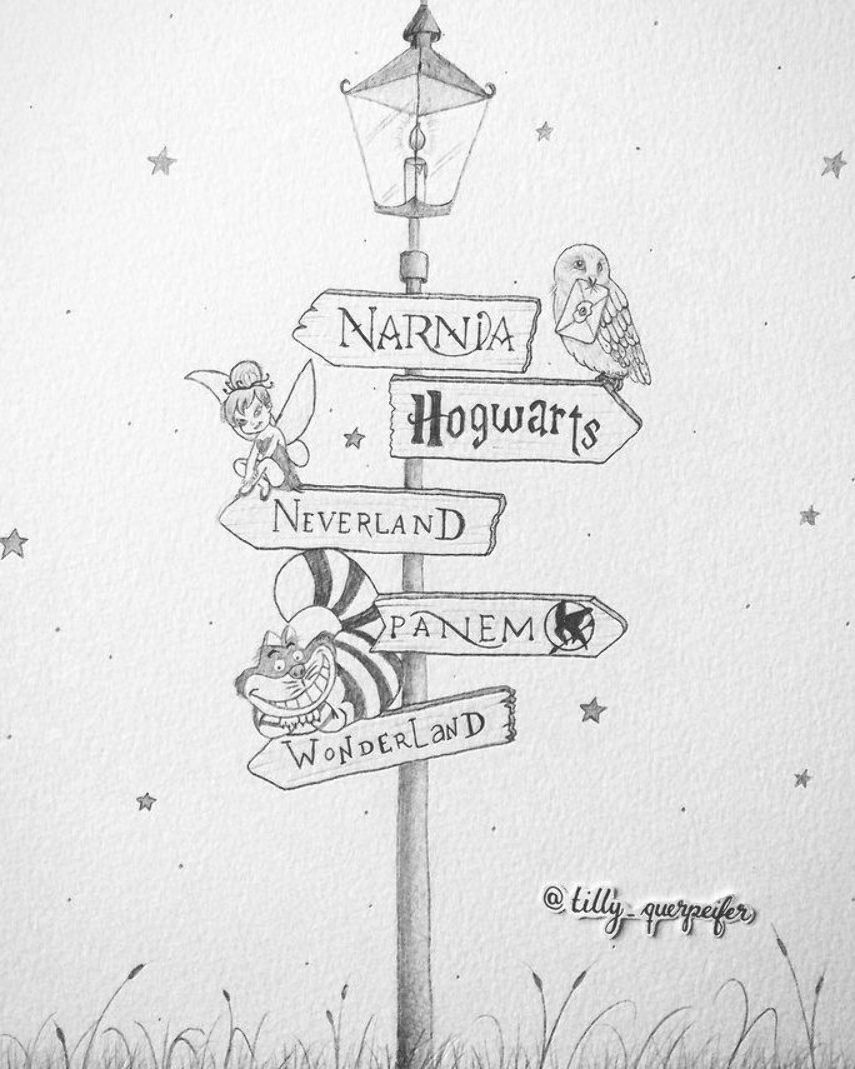 Dessin Au Crayon Lampadaire Harry Potter Poudlard Peter Pan Neverland Crayon Dessin Drawingideas Disney Zeichnungen Bleistiftzeichnung Zeichnungen