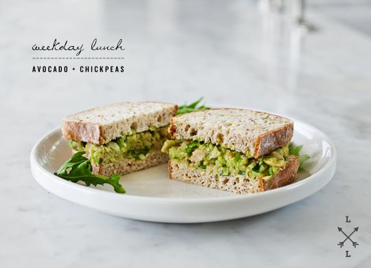 Avocado Chickpea Salad Sandwich Recipe Love And Lemons Healthy Lunches For Work Vegetarian Recipes Healthy Recipes