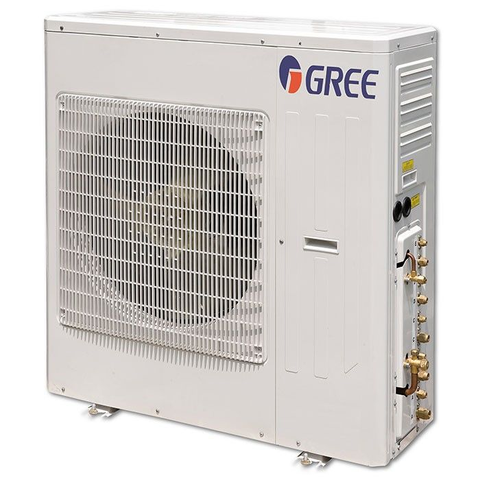 42 000 Btu 21 Seer Gree Mini Split Multi21 1 5 Zone Heat Pump Condenser Heat Pump Gree Locker Storage