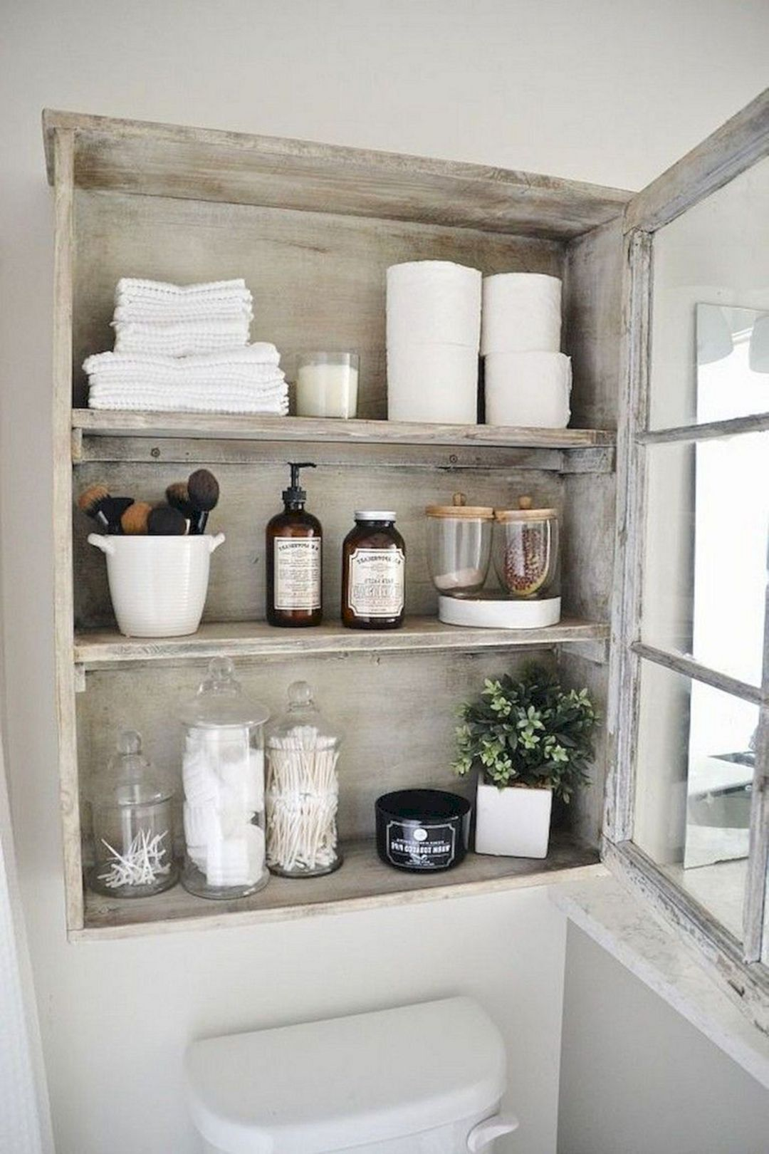 Rustic Diy Bathroom Shelf Ideas Small Bathroom Storage Rustic Storage Cabinets Shabby Chic Cabinet