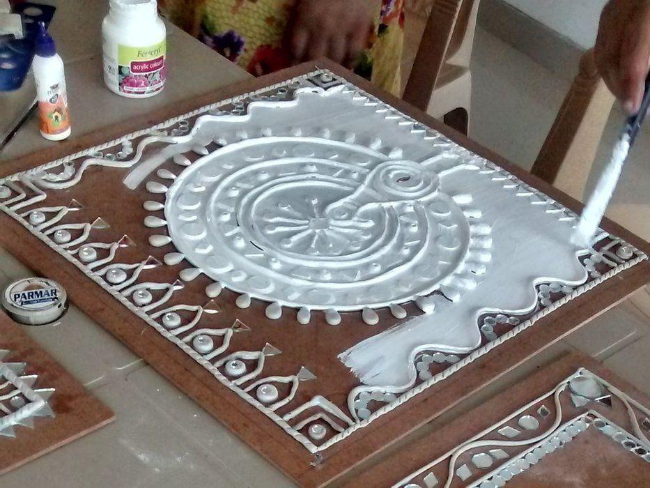 Lippan Kaam Clay Art Of Gujarat Clay Art Clay Wall Art Mural Art
