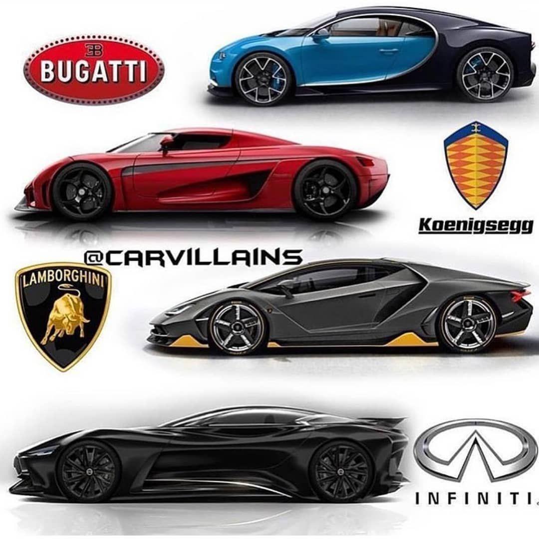 Which Is Your Favorite Hypercar Follow Nbsp Nbsp Dynamocars Nbsp Nbsp For More Nbsp Super Carros Carros De Luxo Carros Esportivos Exoticos