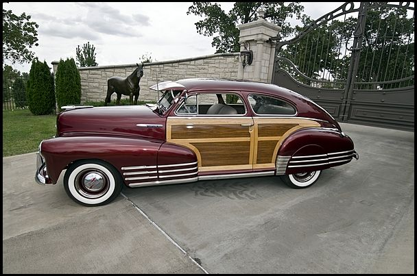 1948 Chevrolet Fleetmaster Woodie Aerosedan | Cars | Antique