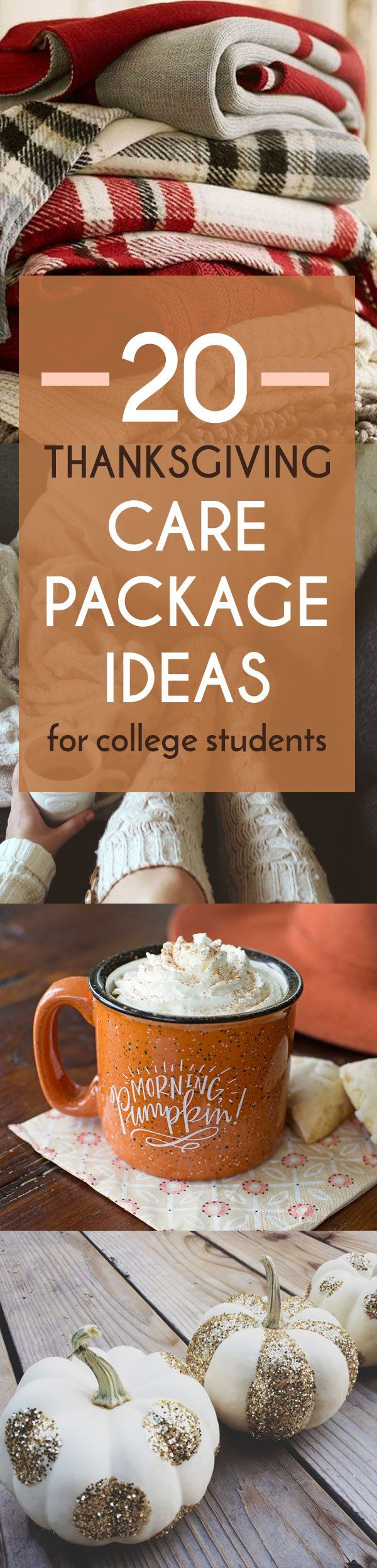 20 Festive Thanksgiving Care Package Ideas For College