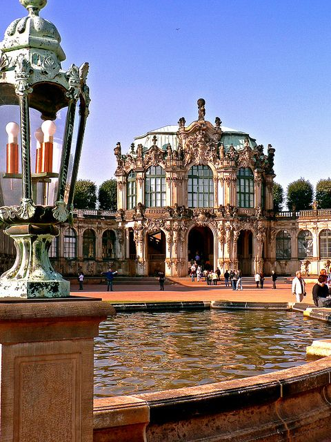 Dresden Zwinger Wallpavillon Cool Places To Visit Germany Castles Germany