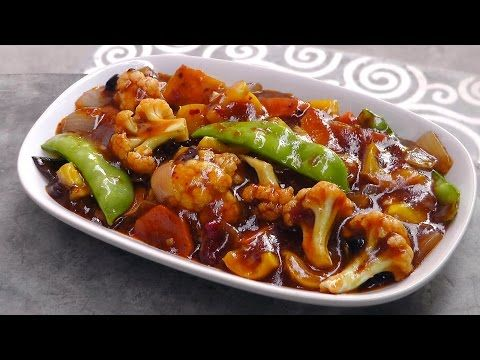 Photo of Chinese vegetables in a Szechuan sauce – International Vegan