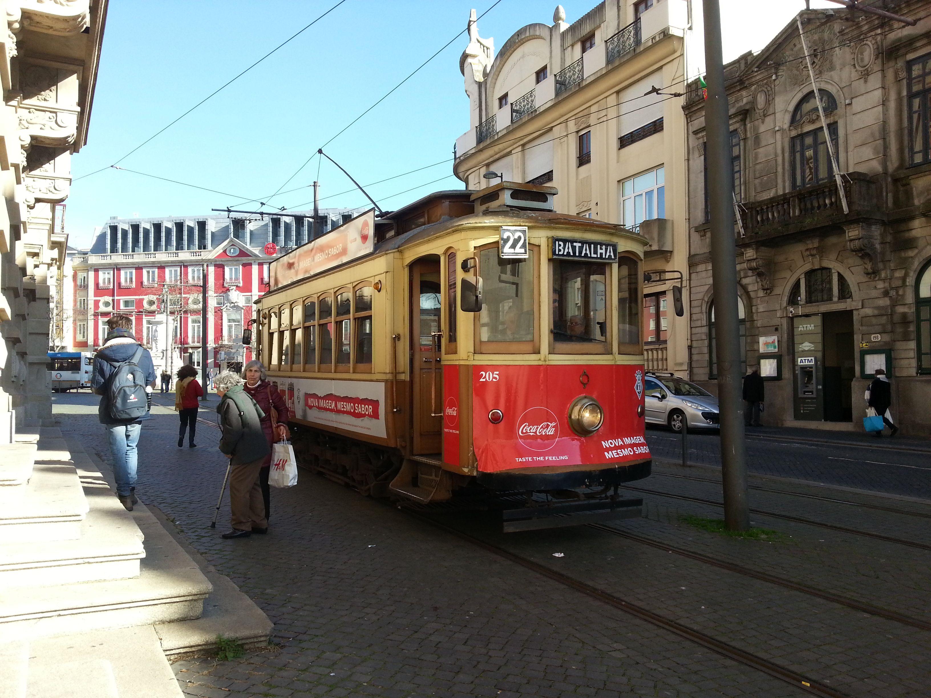 En ruta por... Oporto. Tranvía