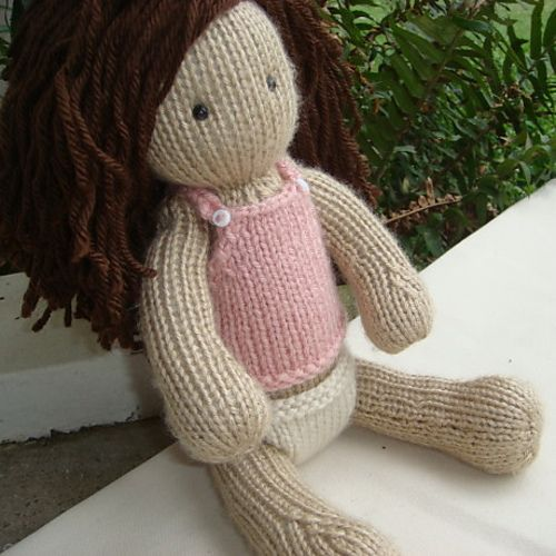Ravelry: Knitted Doll Baby pattern by Michelle Reed