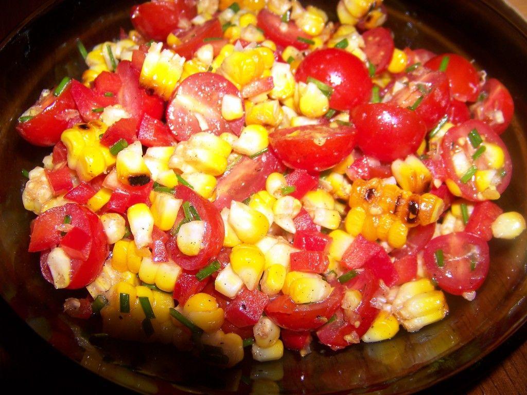 Smoky Roasted Corn Salad