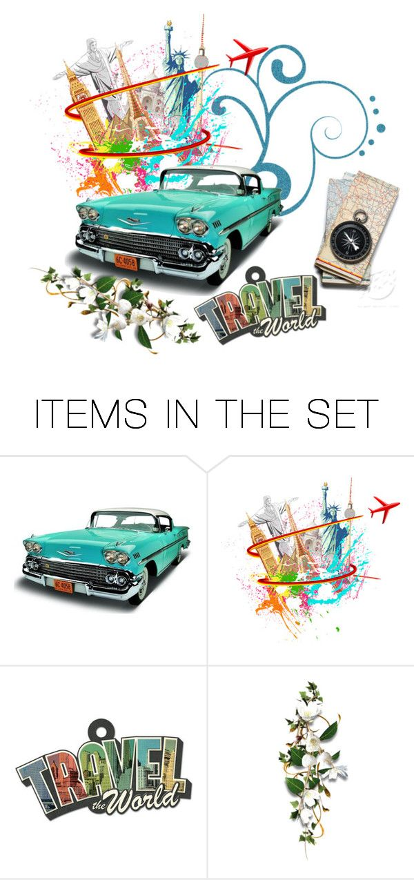 """road trip"" by vale24 ❤ liked on Polyvore featuring art, travel and colour"