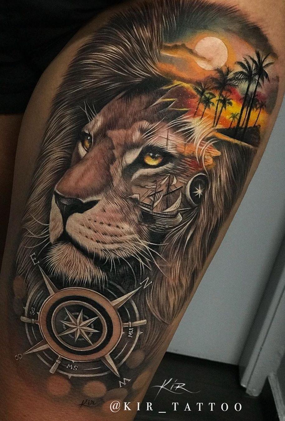 Jungle Tattoo Ideas : jungle, tattoo, ideas, Eye-Catching, Tattoos, That'll, Inked, Tattoo, Sleeves,, Jungle, Tattoo,