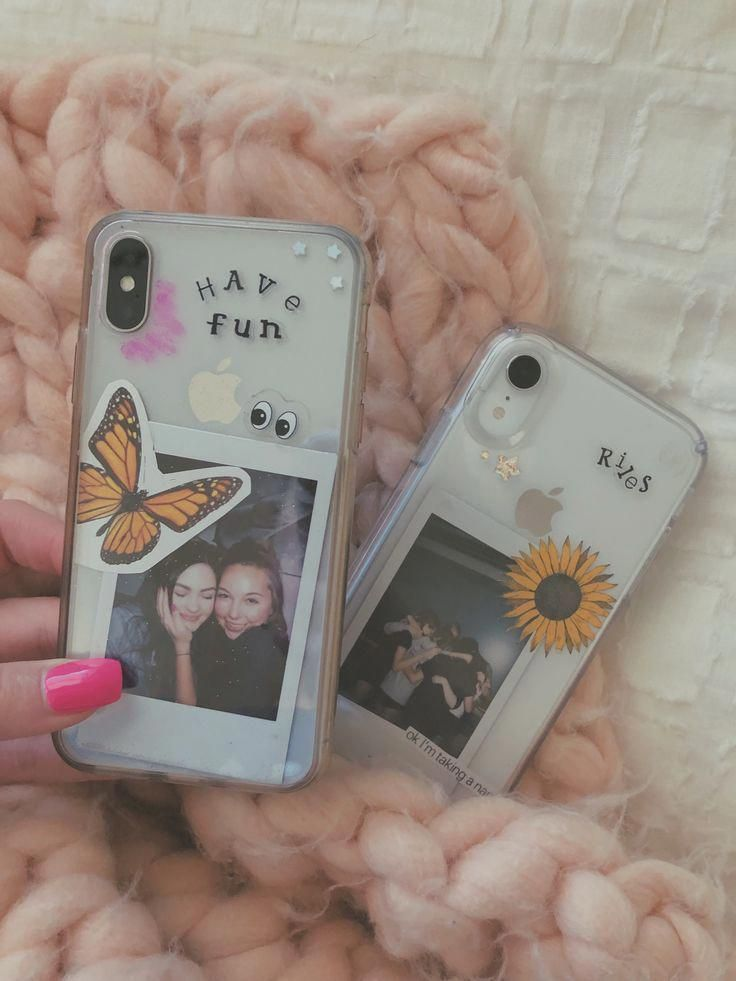 cute iphone x case with card holder