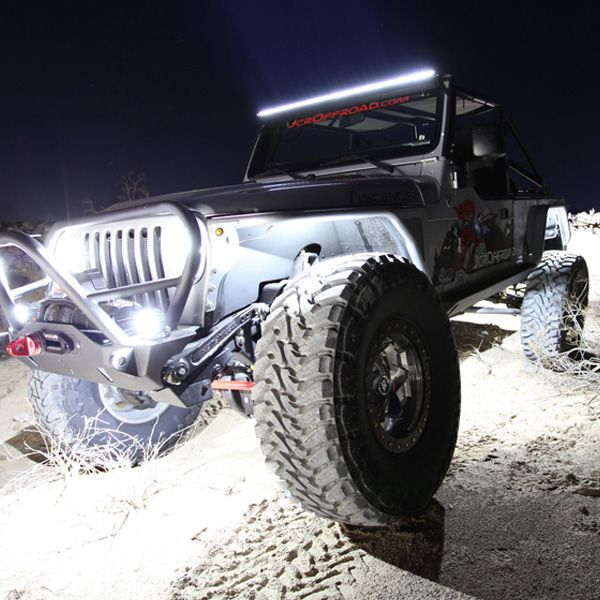 JRC Offroad Jeep LUX Lighting Systems LED Rock Lights ...