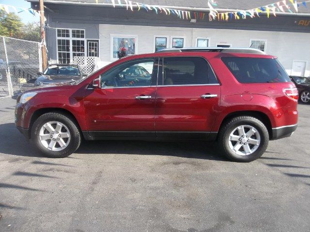 Red Jewel Tintcoat 2008 Saturn Outlook Awd 4dr Xr Holyoke Massachusetts Awd Saturn Used Cars
