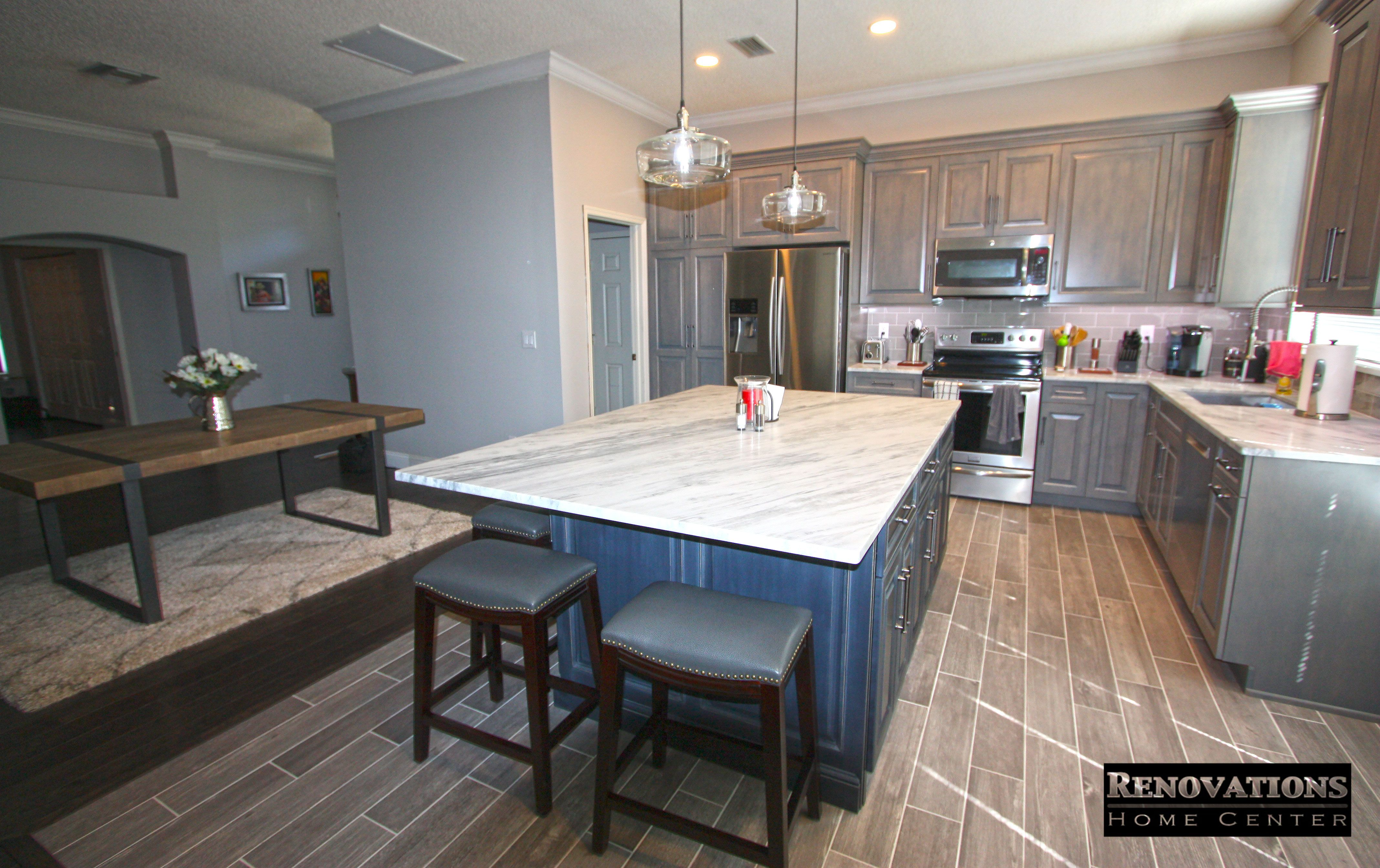 Kitchen Remodel for our client located in Palm Harbor. We ...