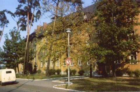 55th Engineer Company Pb Barracks Front View Karlsruhe Germany 1966 Karlsruhe Engineering Companies Germany