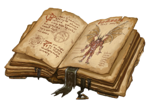 Book Of Shadows Png 500 339 Fantasy Props Book Of Shadows Grimoire