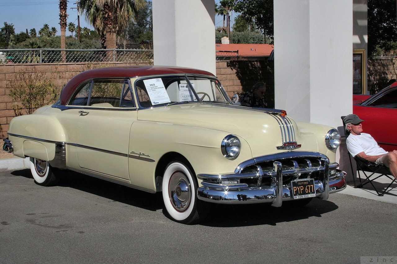 1950 Chieftain Deluxe Catalina (first year for the Catalina name ...