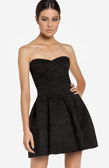 Bandage Fit and Flare Dress