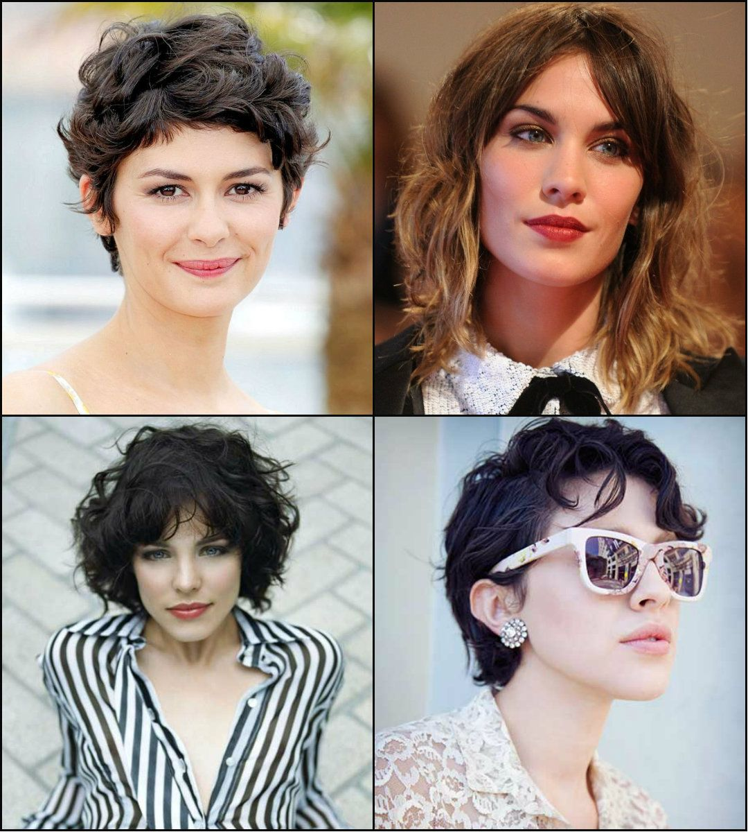 Try short curly hairstyles for any occasion curly
