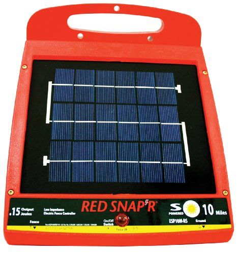 Solargreenhouse Fence Charger Solar Solar Greenhouse