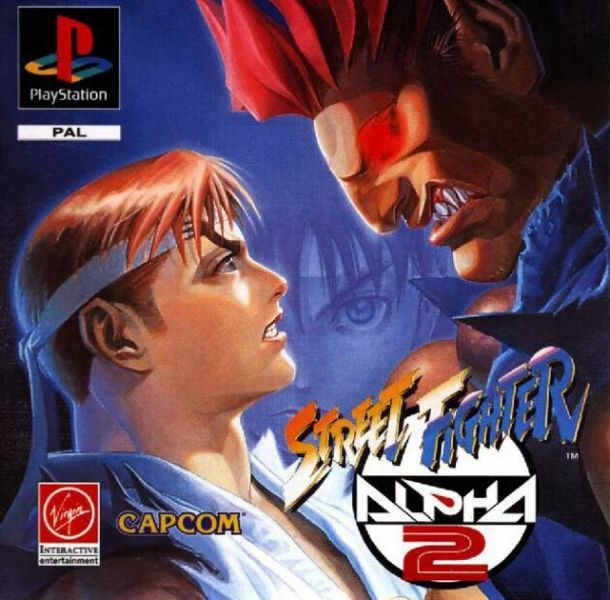 Street Fighter Alpha 2 Playstation Pal Street Fighter Alpha