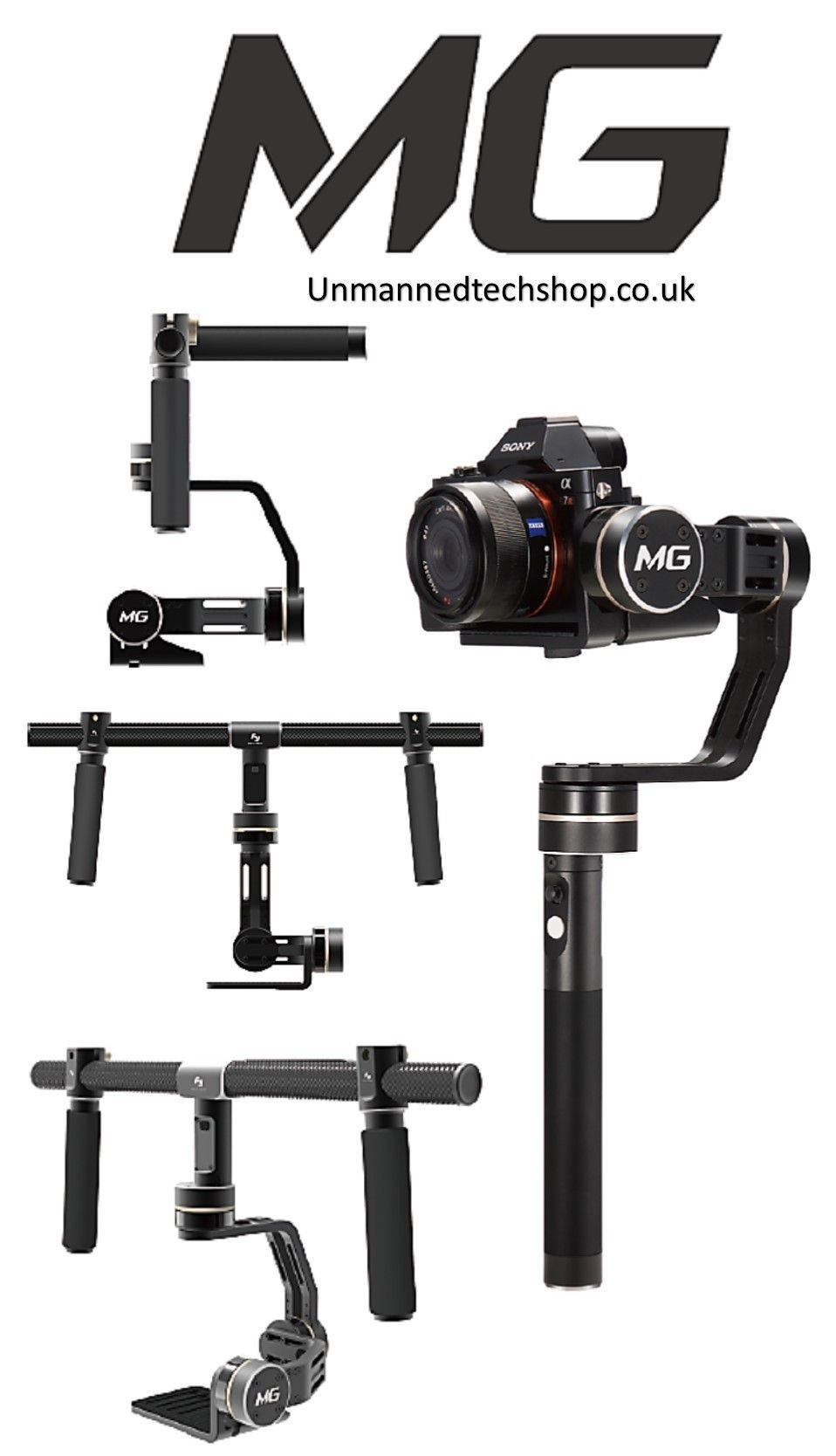 Mirrorless camera gimbal from FeiYu Tech - FY-MG - Product - DroneTrest