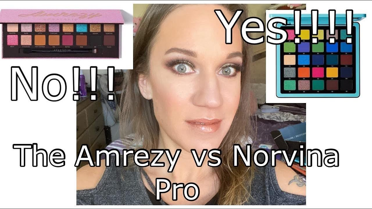 ABH X AMREZY PALETTE REVIEW & TUTORIAL - YouTube