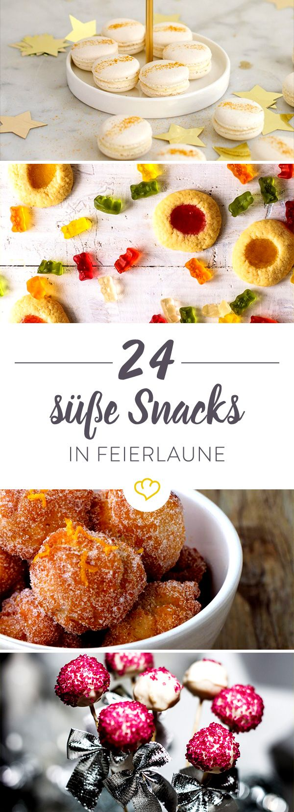keine party ohne snacks 25 s e fingerfood ideen pinterest keine sorge f r dich und snacks. Black Bedroom Furniture Sets. Home Design Ideas