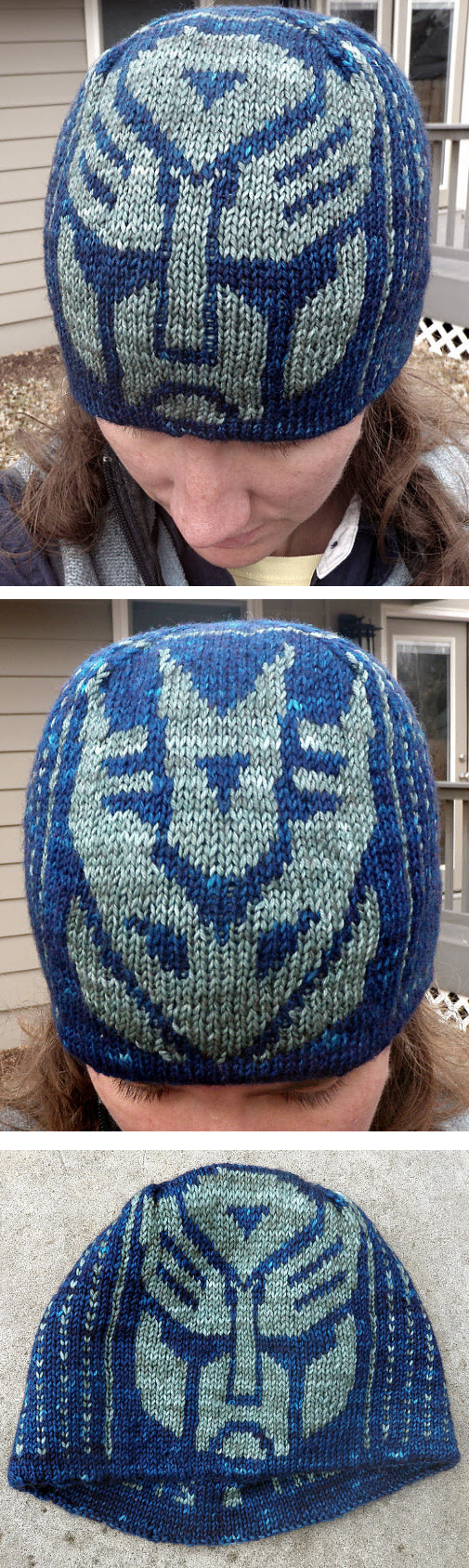 Free Knitting Pattern for Transformers Hat - This hat pattern comes with  Autobot and Decepticon charts to choose from or knit both! Designed by Lori  Magnus. f53362cfca4