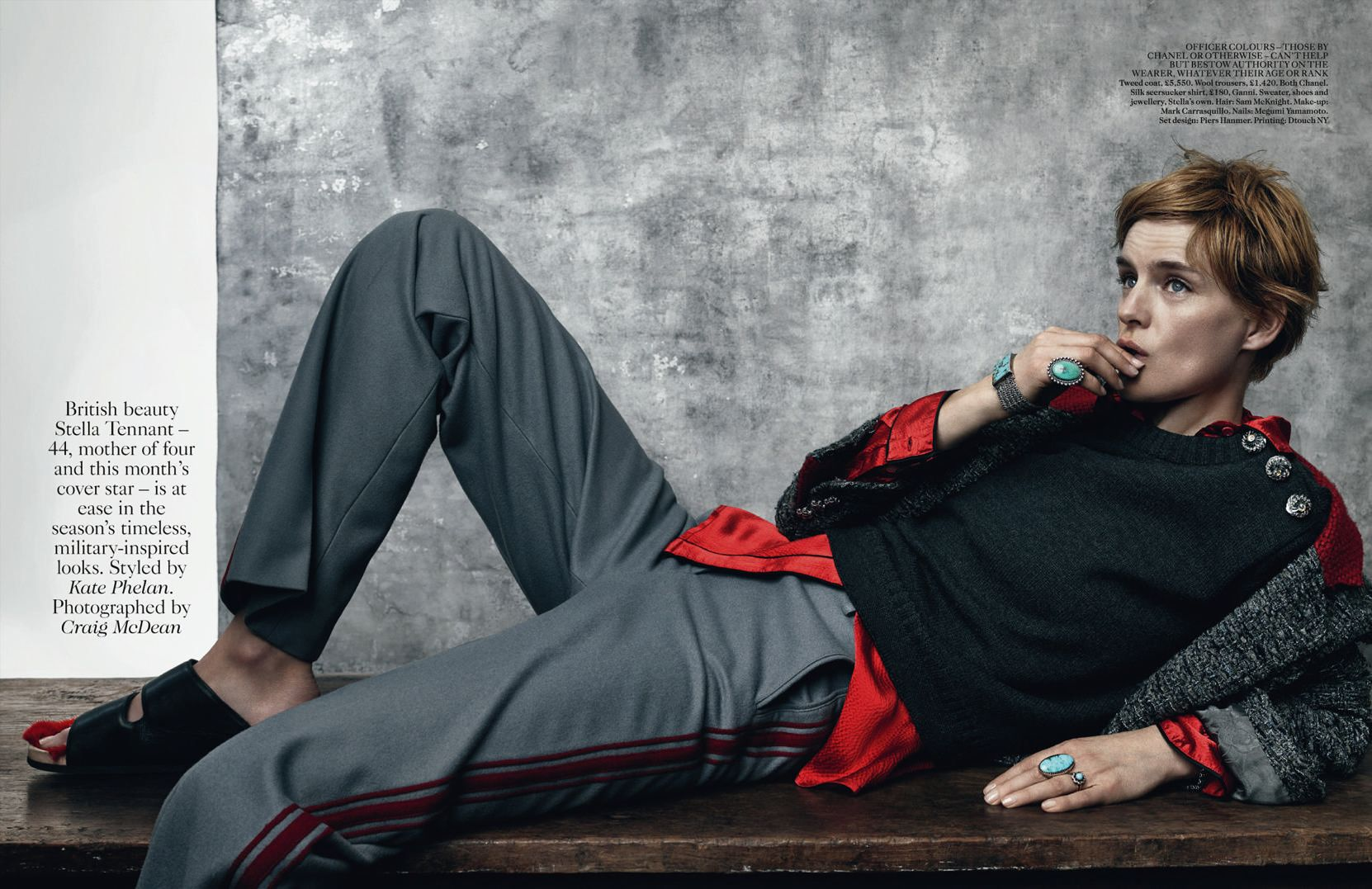 To acquire Tennant stella uk vogue july pictures trends