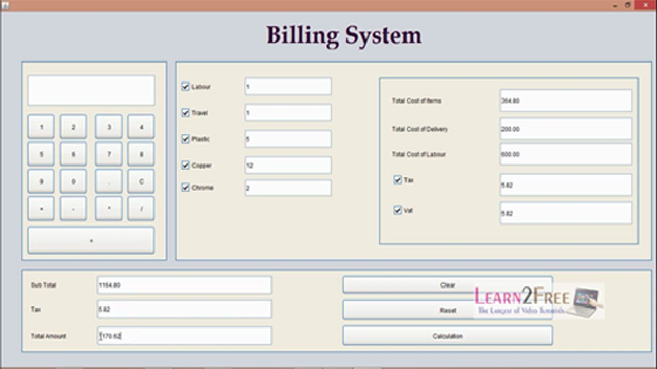 Billing system project in java with source code project free and today i have shared how to make billing system project with the help of java tutorial in urduhindi language you can learn this course free of cost baditri Images