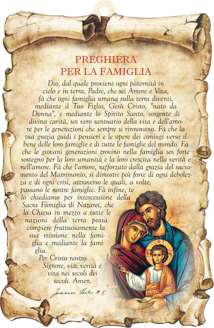 Souvent Preghiera della famiglia - In cammino insieme allo Spirito Santo  GD78