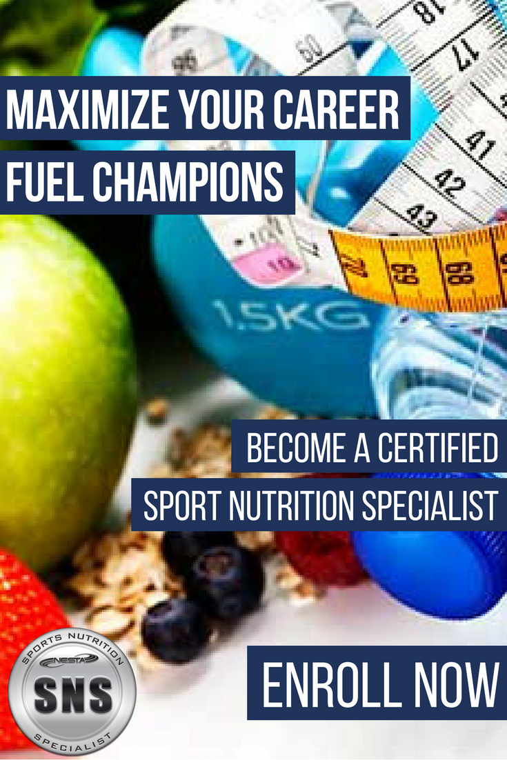 Sports Nutrition Specialist Certification Sports Nutrition