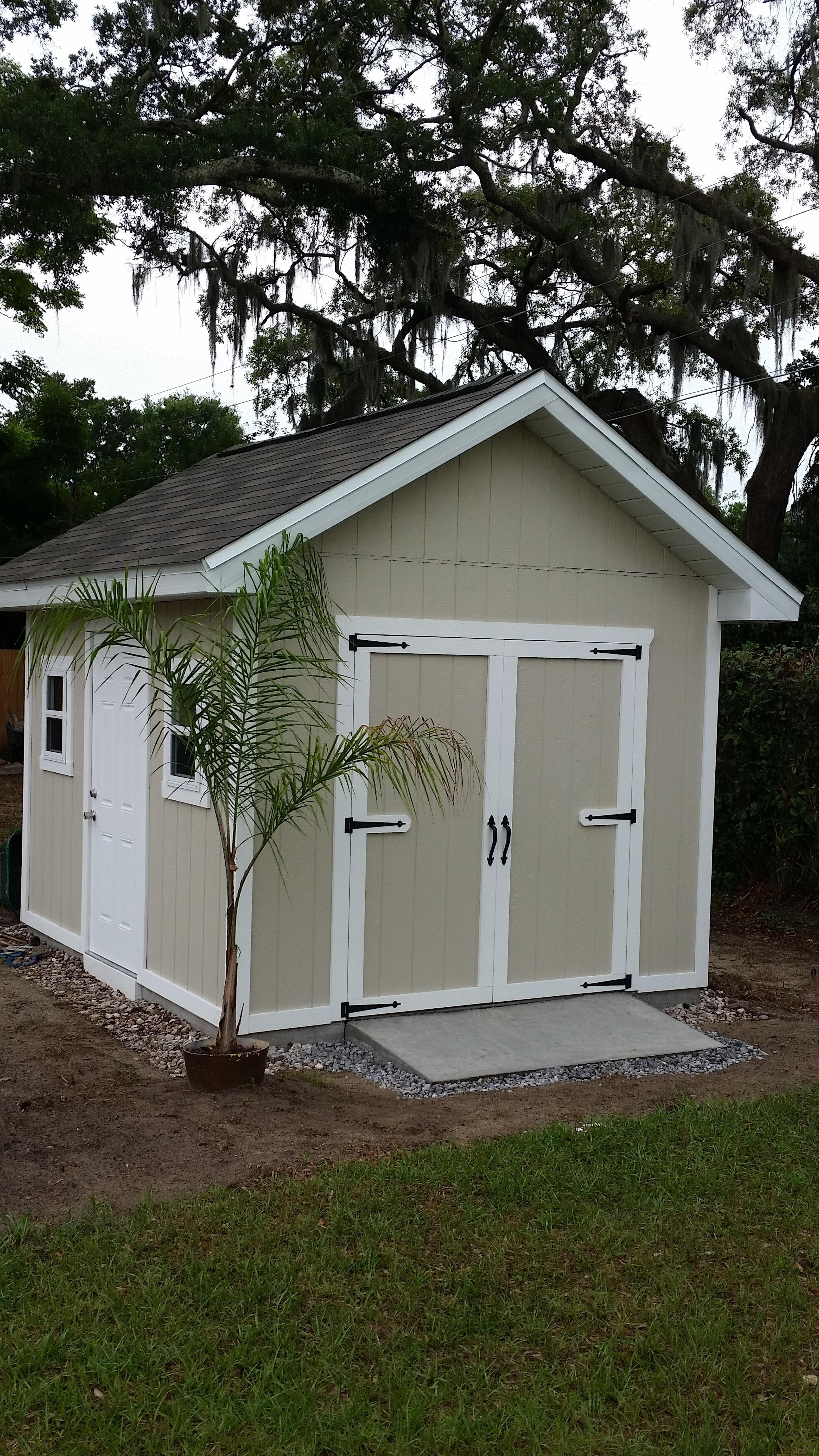 10 X 12 Shed Floor Foundation Yard Sheds Backyard Sheds Garden Shed Floor Ideas