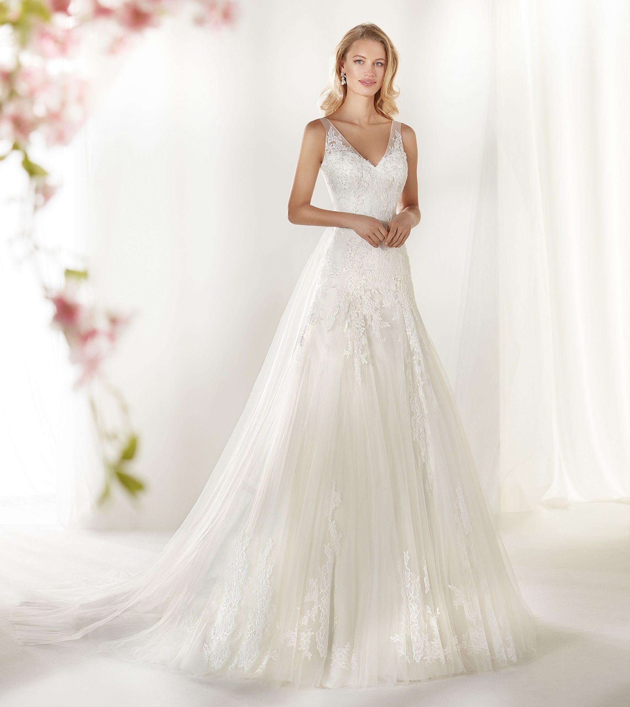 Moda Sposa 2019 Collezione Colet Coab19240 Abito Da Sposa Nicole Abito Da Sposa A Trapezio Abiti Da Sposa Glamour Abiti Da Sposa Da Sogno