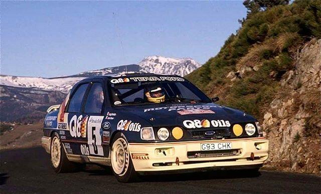 Monte Carlo 1991 Alex Fiorio Ford Sierra Coche De Rally Coches