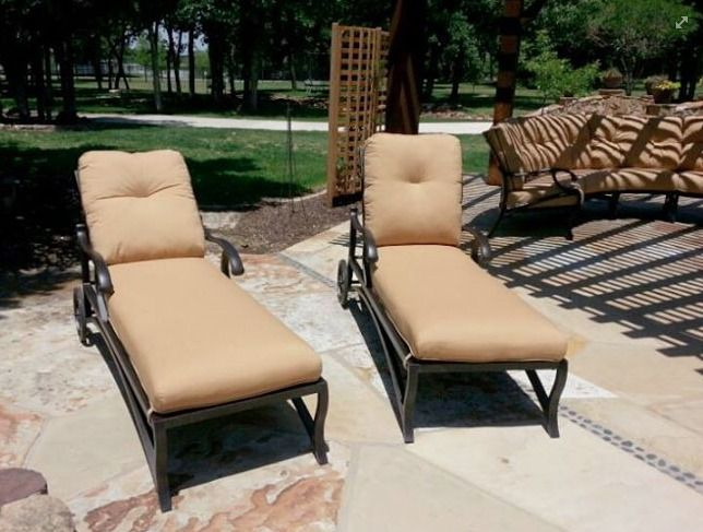 Mallin Volare chaise lounge chairs Enjoy Your Outdoor Room - Yard ...