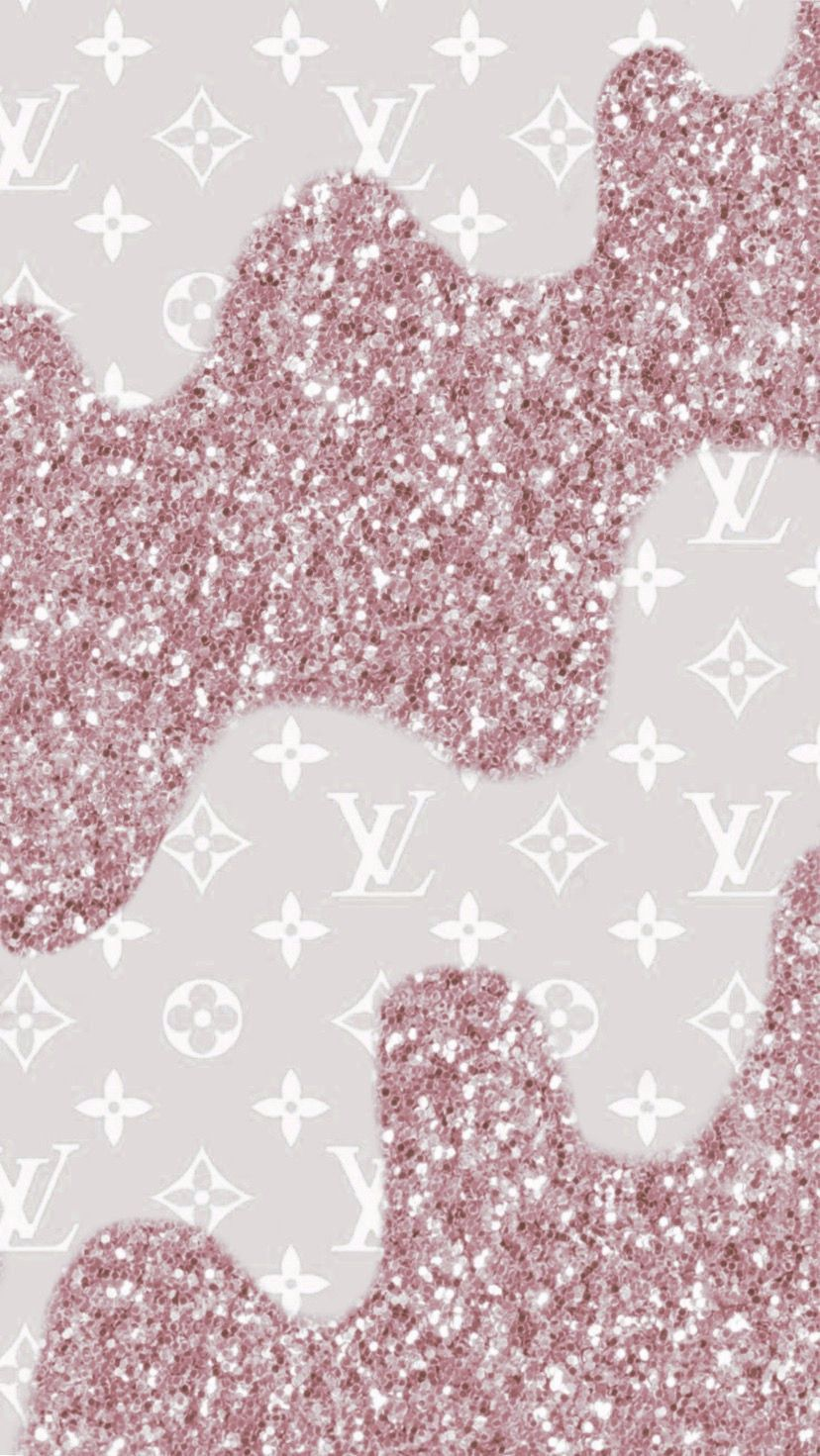 Rose Gold Louis Vuitton Sparkling Drips Wallpaper Background For All Phones Aesthetic Iphone Wallpaper Cute Tumblr Wallpaper Pretty Wallpapers