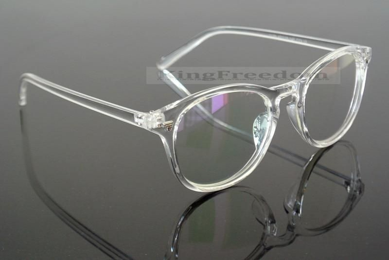 Photo of Vintage Brillenrahmen Retro klar transparent Vollrand Plain Brille Brille modkily