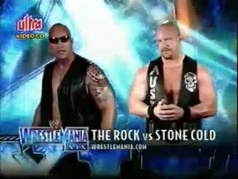 Stone Cold Steve Austin Vs The Rock Wrestlemania 2003 Promo Stone Cold Steve Steve Austin Wwf