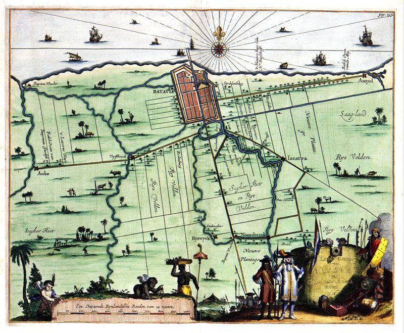 fort vocdutch east indies oost indie nederlands indie batavia