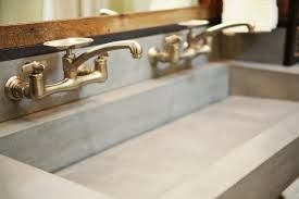 Image result for concrete vanity
