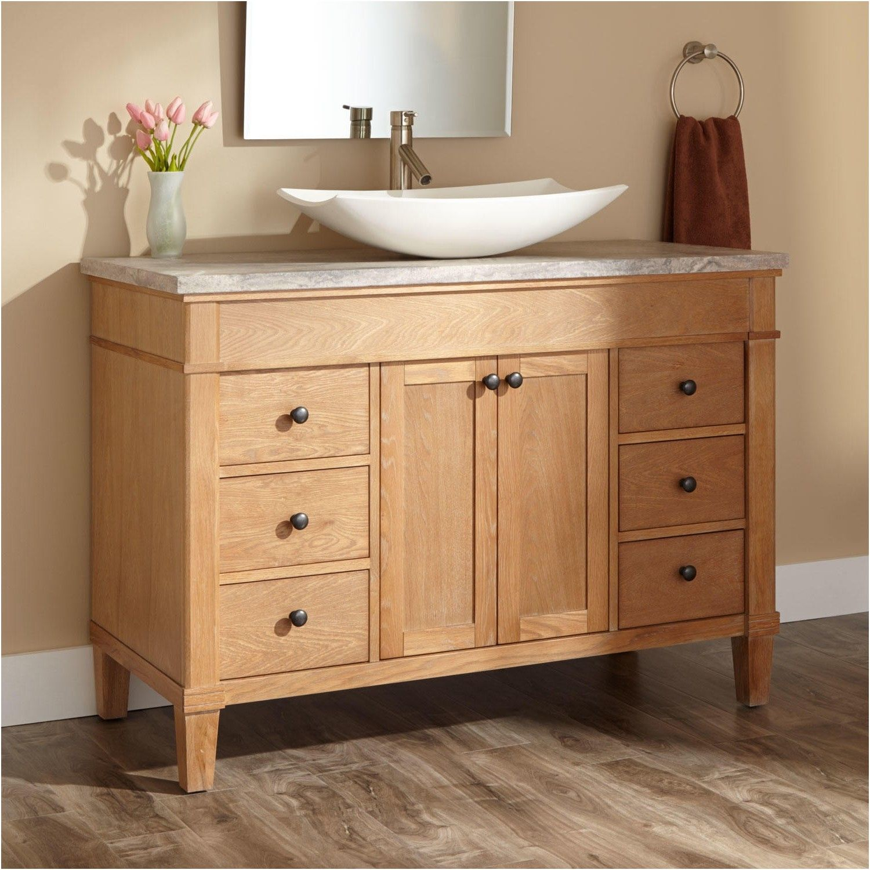 Vessel Sink Vanities Signature Hardware From Bathroom Bowl Sink Glamorous Bathroom Bowl Sinks Decorating Inspiration